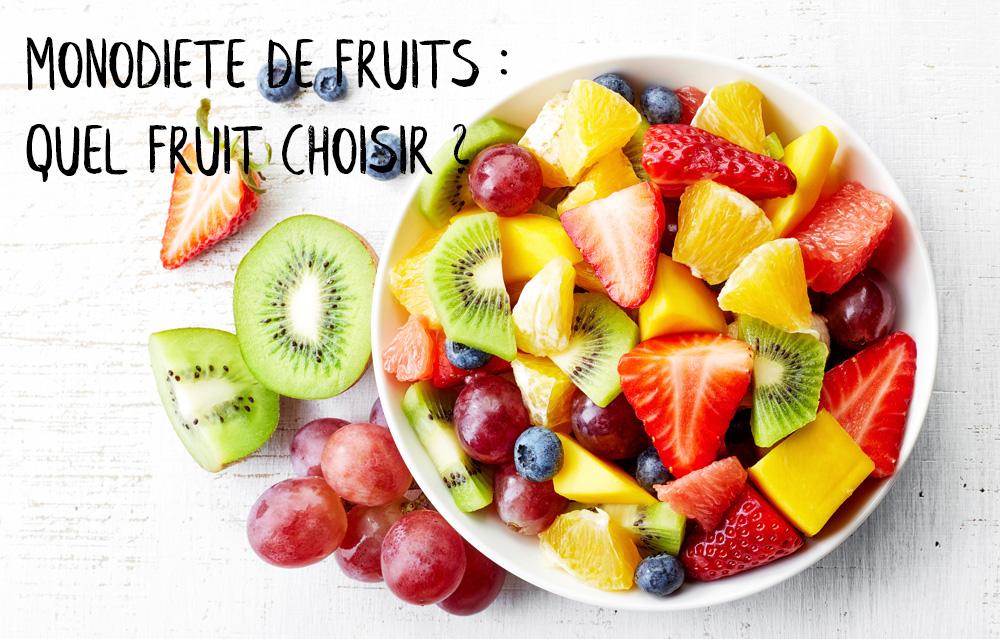 monodiete fruits