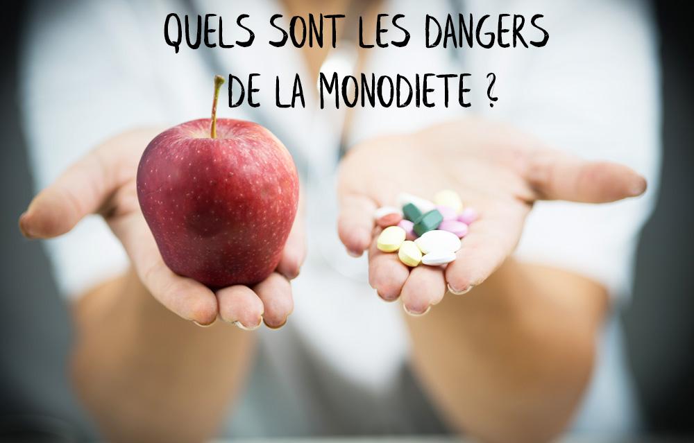 monodiète danger