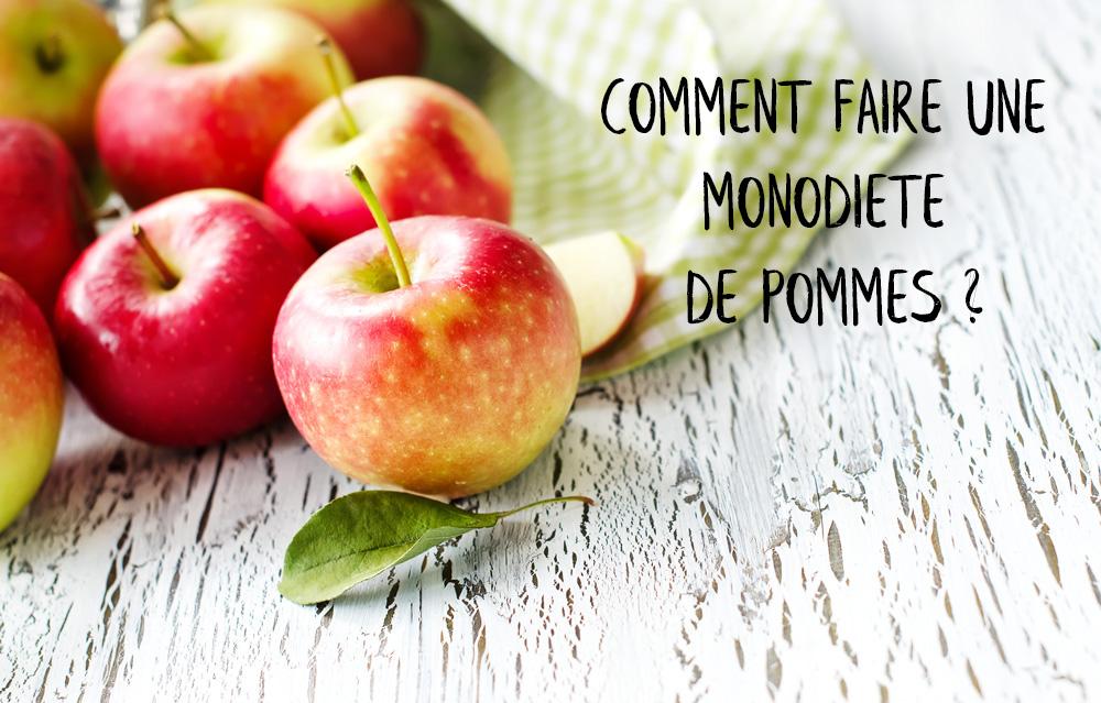 monodiète pommes