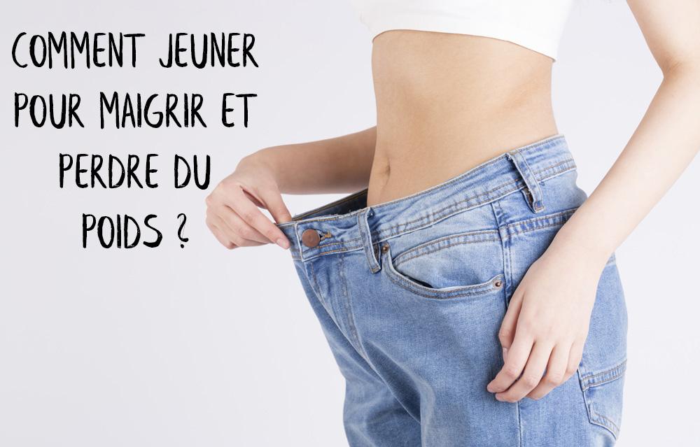Perdre du poids jeune